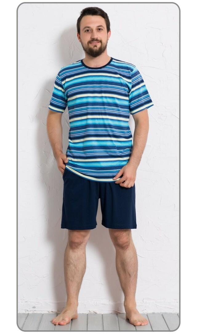 Pánské pyžamo šortky Hugo - červená XL