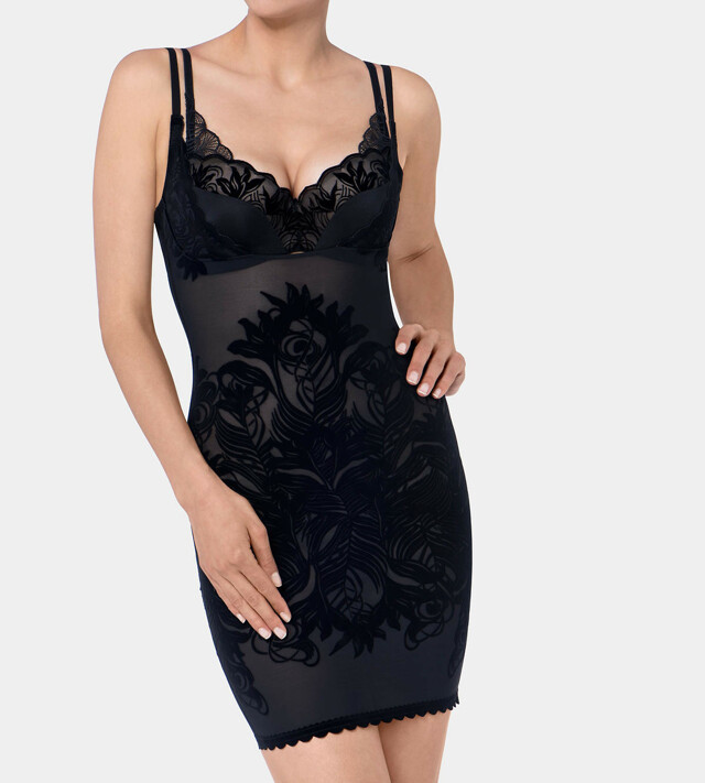Stahovací šaty Magic Boost Velvet Dress - Triumph