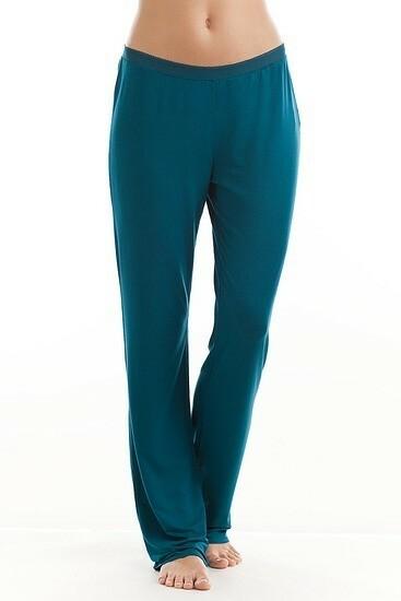 Dámské kalhoty S2635E - Calvin Klein - L - petrolejová
