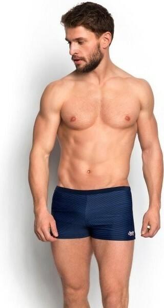 Pánské plavky boxerky Henderson 34182 - M - tmavě modrá