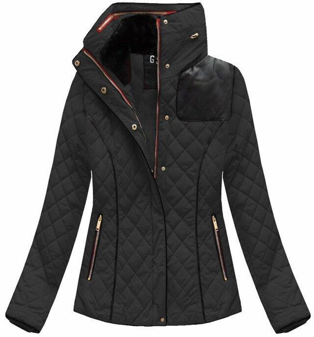 Dámská zimní bunda WZ105 - GO-START - L - černá