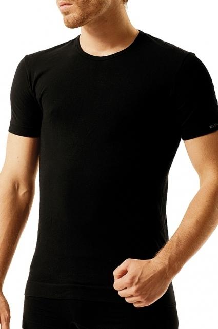 Pánské triko Brubeck SS00990 - XL - bílá