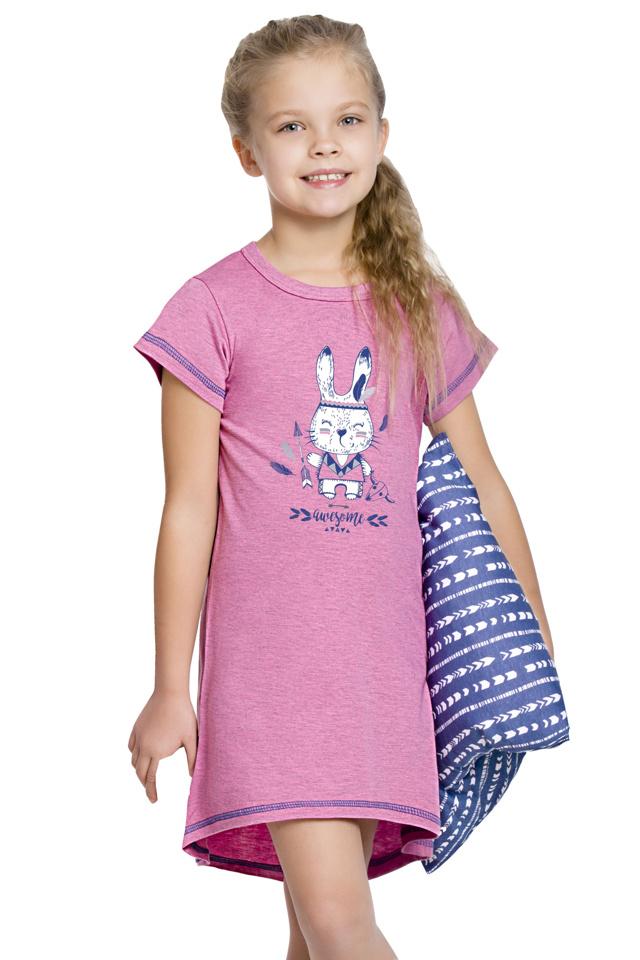 Dívčí noční košilka Matylda se zajíčkem - 122