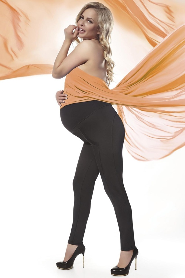 Těhotenské legíny Bas Bleu Stefanie