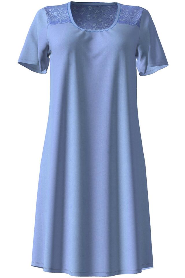 Dámská noční košile 10-4722 - Vamp - L - modrá
