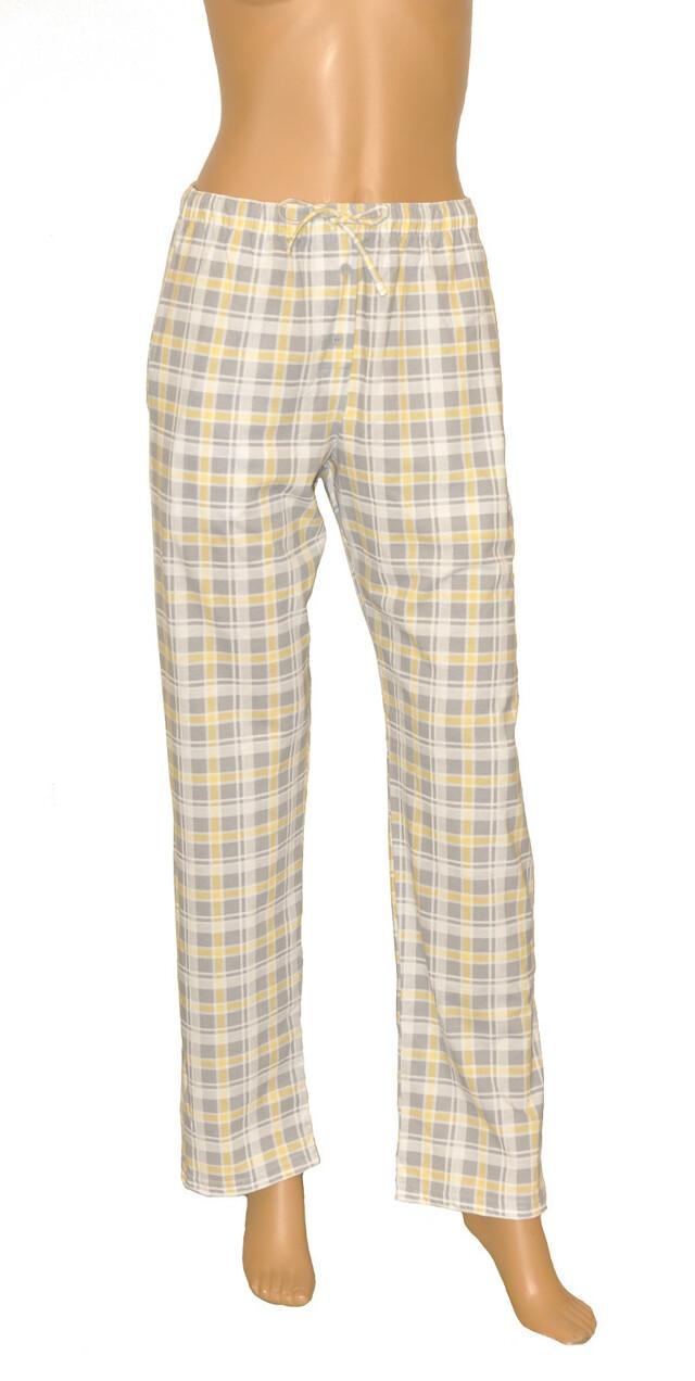 Dámské pyžamové kalhoty Cornette 690/10 581308 - M - šedá-žlutá