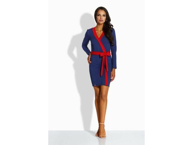 Dámské šaty L221 - Lemoniade - M - modro-červená