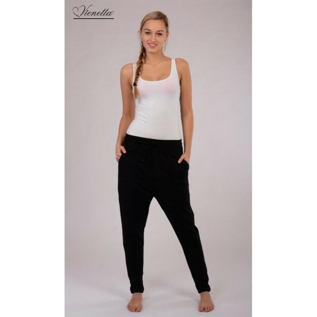 Dámské sportovní kalhoty 3108 - Vienetta - M - černá