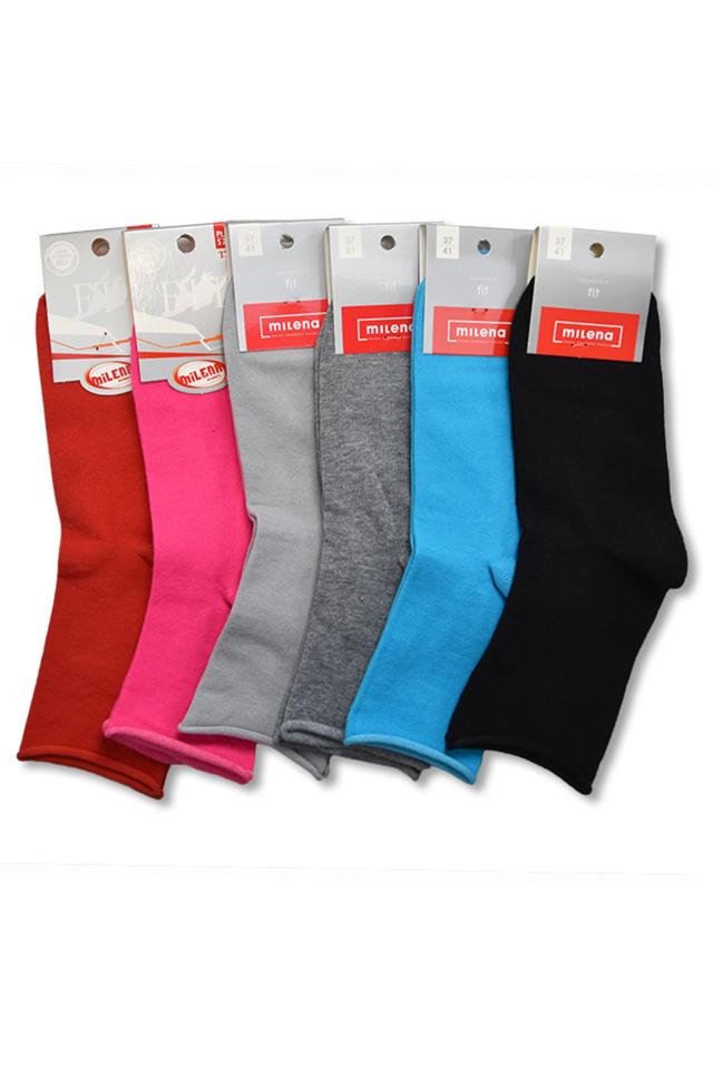 Hladké dámské ponožky - 37-41