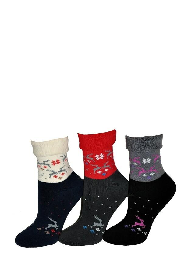 Dámské ponožky Tak Winter 1320 froté - 35-37 - černá