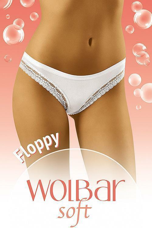 Dámské kalhotky Wol-Bar Soft Floppy - L - černá