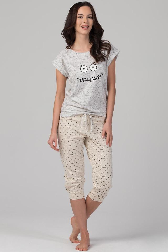 Dámské pyžamo Rossli SAL-PY-1092 - XL - šedá