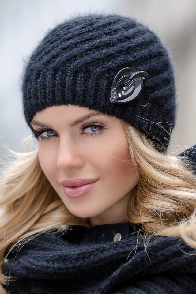 Dámská čepice Eterno Rita - UNI - černá