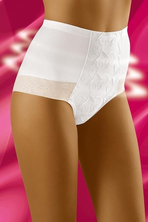 Stahovací kalhotky Experia white - XXL - bílá