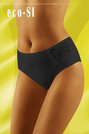 Kalhotky Wol-Bar Eco-Si - M - černá