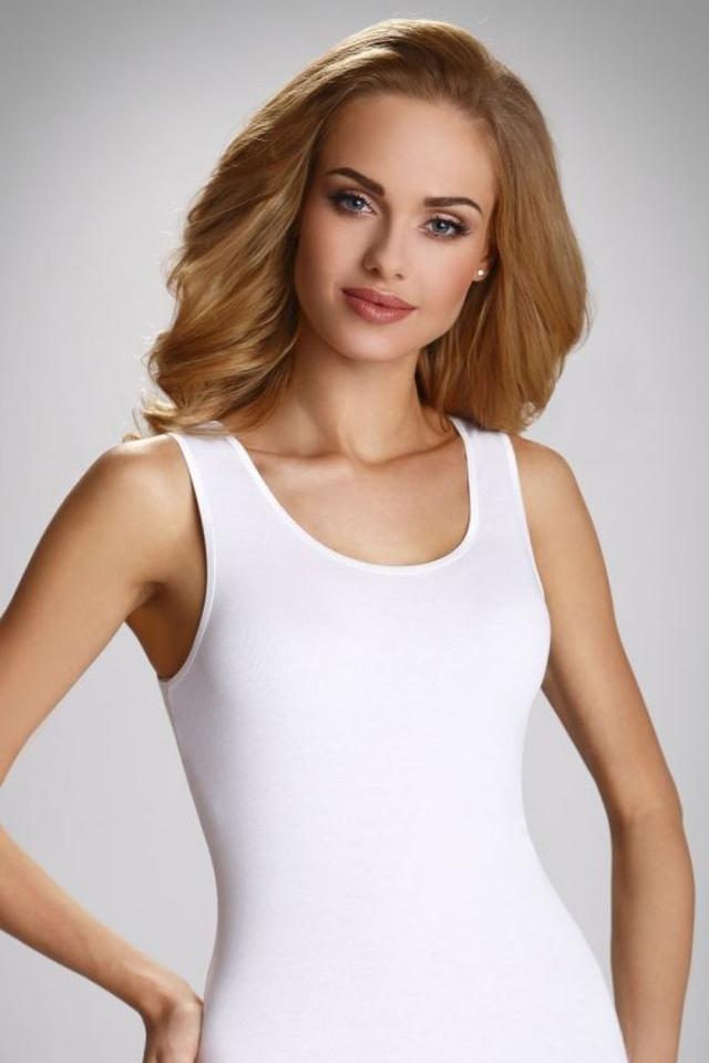 Dámská košilka Clarissa - Eldar - XL - bílá