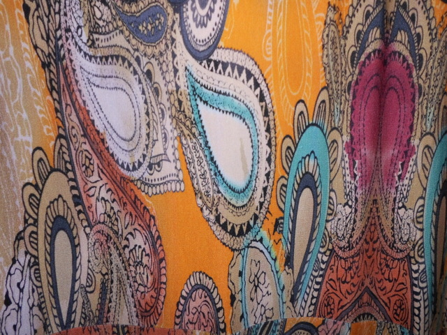 Dámské šaty 3281 - Vamp - M - orientál