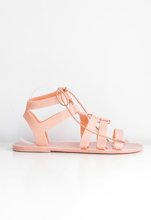 e22054ac1139 Dámské sandály gladiatorky - 40 - Neonově růžová