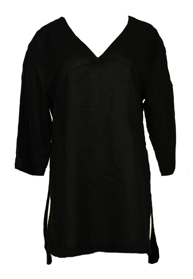 Plážové šaty KW0KW00379-001 černá - Calvin Klein