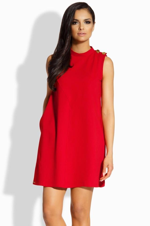 Dámské šaty Lemoniade L198 - L - béžová