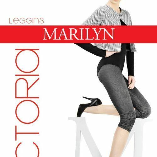 Dámské legíny Victoria 80 DEN - Marilyn - S/M - černá