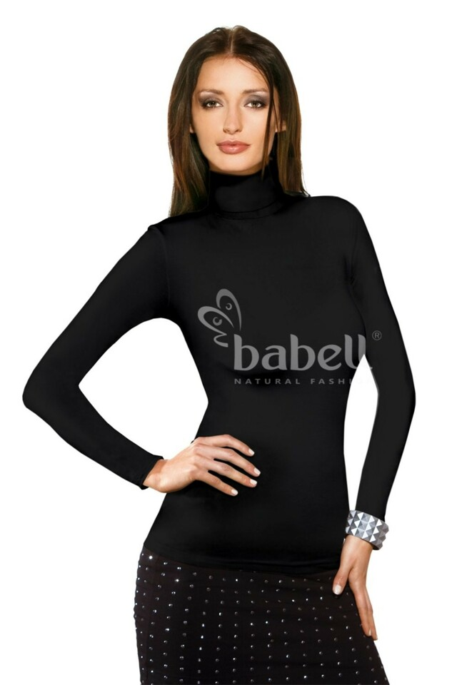 Dámské tričko Kimi black - BABELL - M - černá