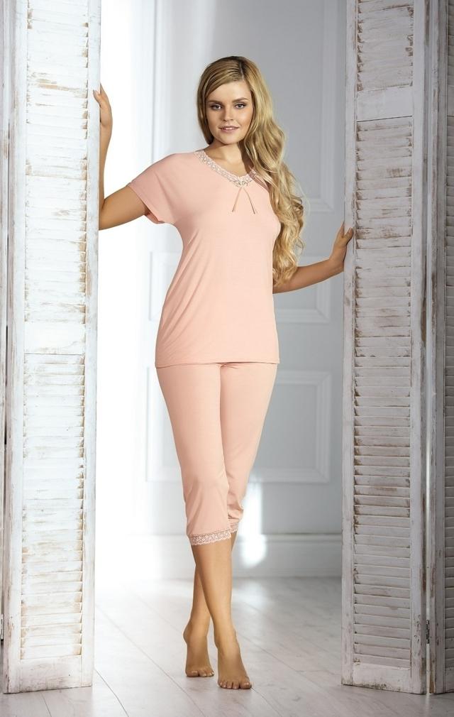 Dámské pyžamo INEZ - BABELLA - M - mátová