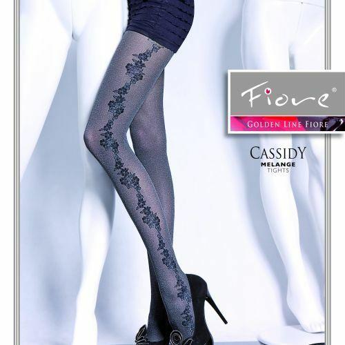 Dámské punčochové kalhoty Cassidy 5290 - Fiore - 4-L - černá