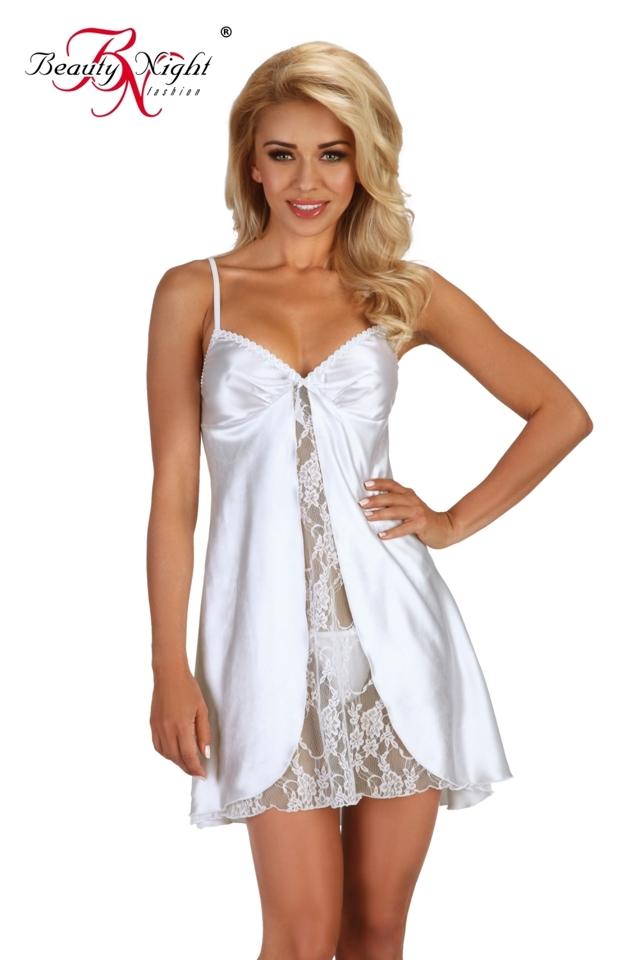 Dámská košilka Alexandra chemise white - L/XL - bílá