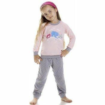Dívčí pyžamo Animals 2-Cornette