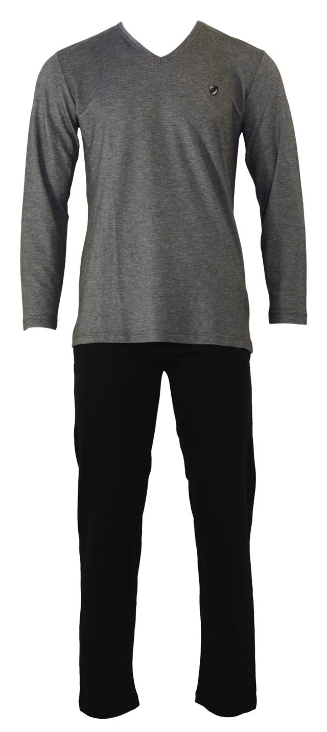 Pánské pyžamo 4516 - Gazzaz - M - šedá