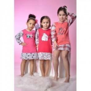 Dětská noční košilka 448 Taro - Gemini - 122 - růžová
