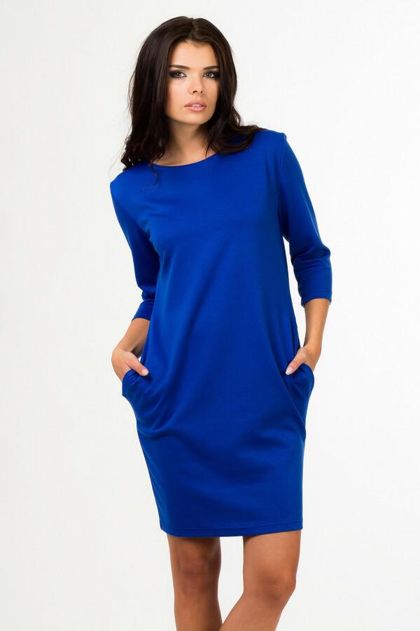 Dámské šaty 3790 - Bass - 40 - modrá