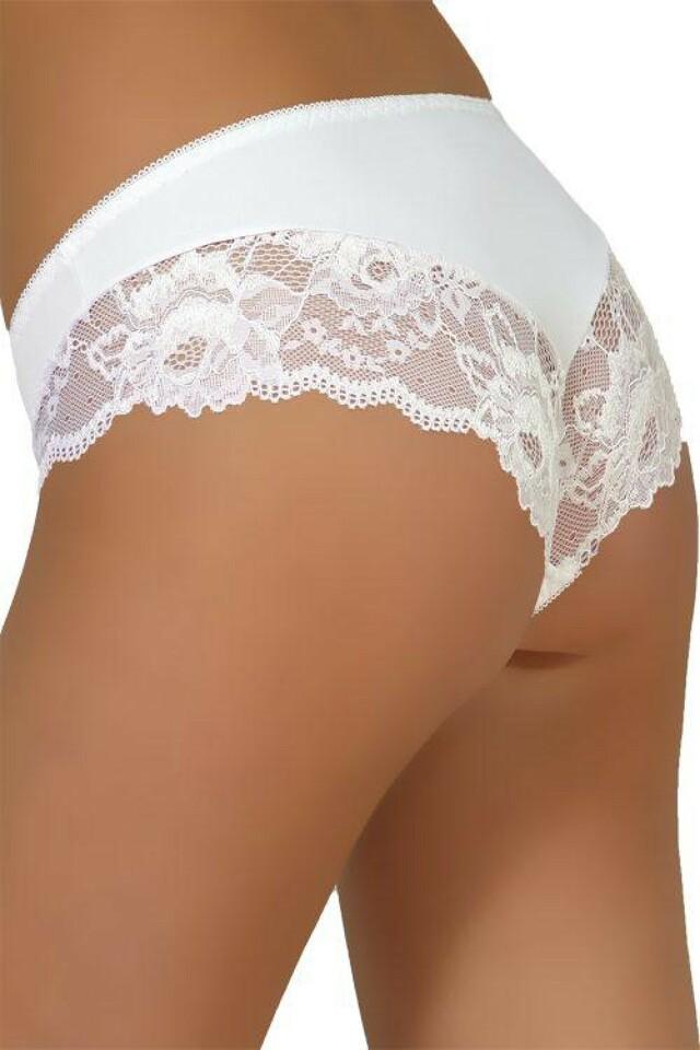 Dámské kalhotky 34 white - L - bílá