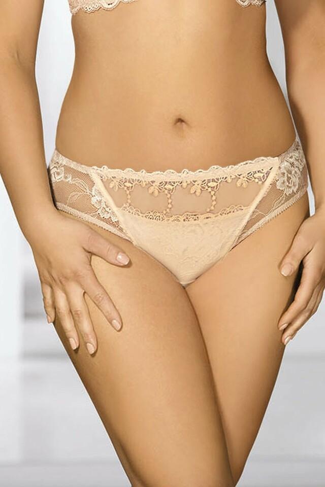 Dámské kalhotky 1030 beige - S - béžová