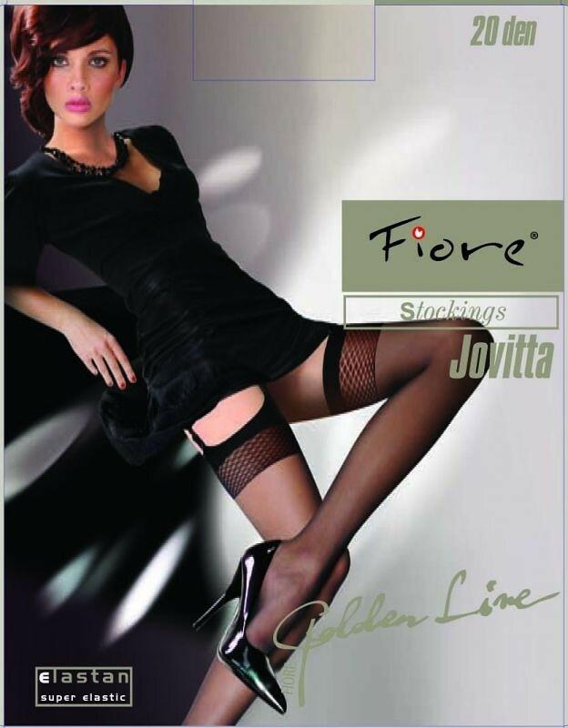 Punčochy Fiore| Jovitta 20 den - 2-S - černá