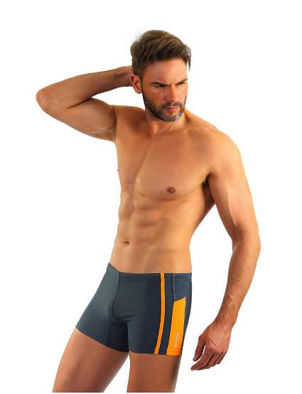 Pánské plavky boxerky Sesto Senso 364 - XL - tmavě modrá
