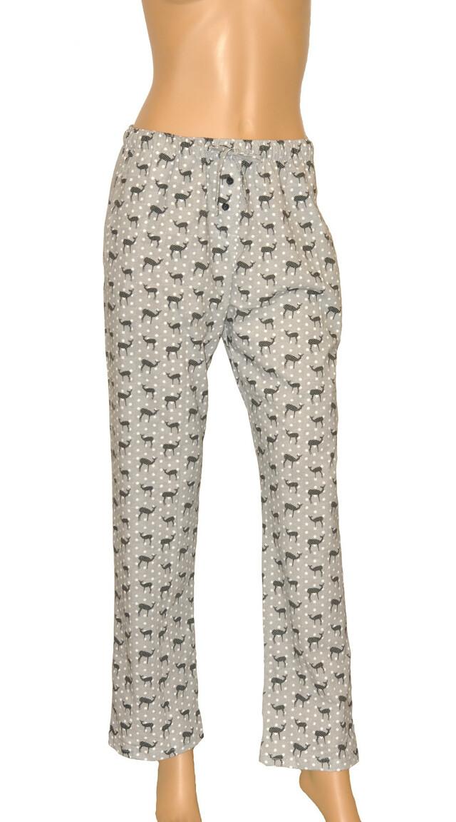 Dámské pyžamové kalhoty Cornette 690/09 613201 - S - šedá