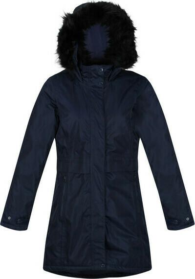 Dámský kabát Regatta RWP301 Lexis 540 tmavě modrý - 36 - Modrá