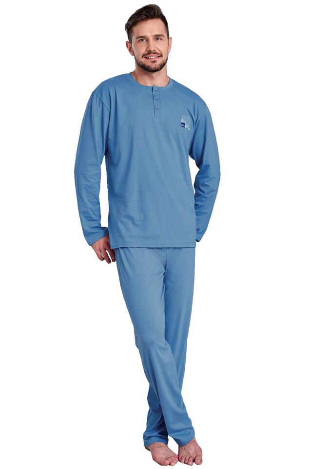 Pánské pyžamo Martin modré