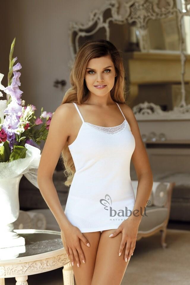 Dámská košilka Babell Alina 2XL - XXL - bílá