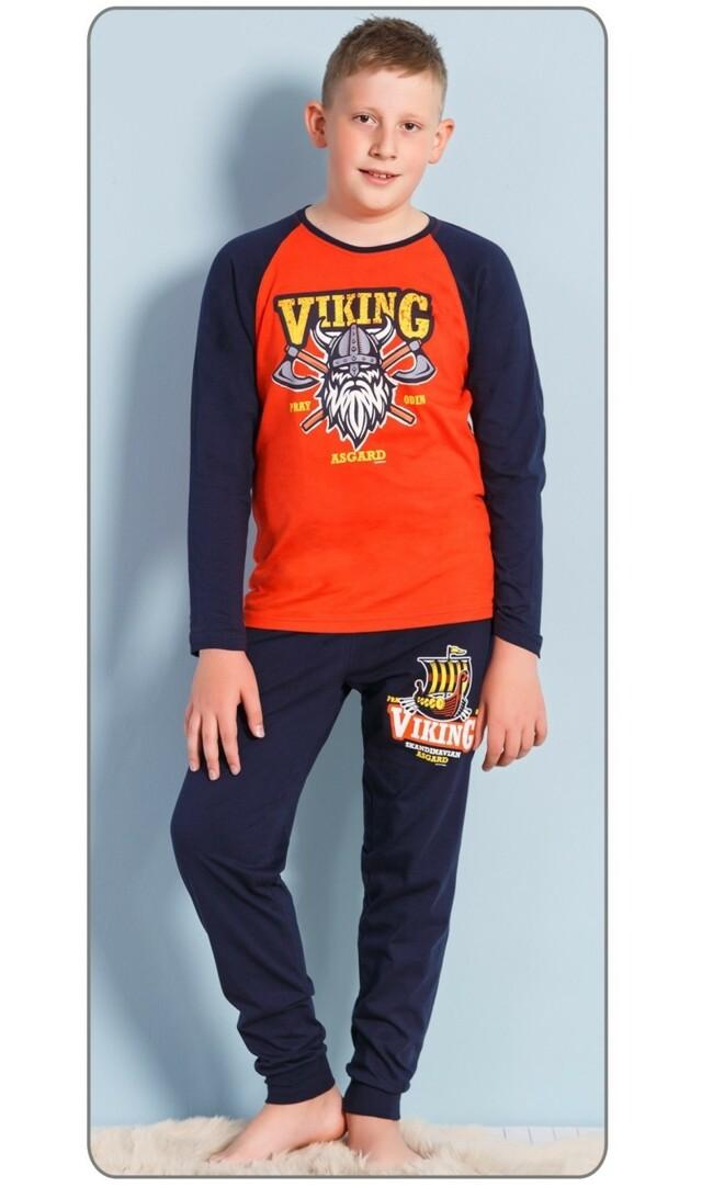 Dětské pyžamo dlouhé Viking