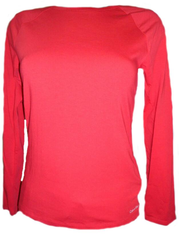 Dámské triko DR QS5320E - Calvin Klein - L - červená