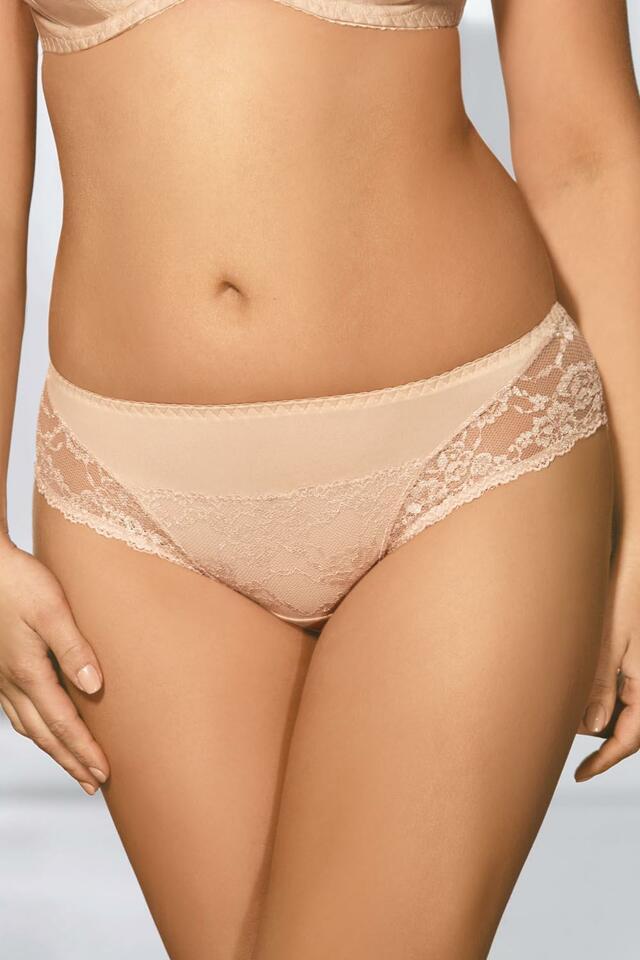 Klasické kalhotky Kalhotky Ava 1130 - XL - béžová