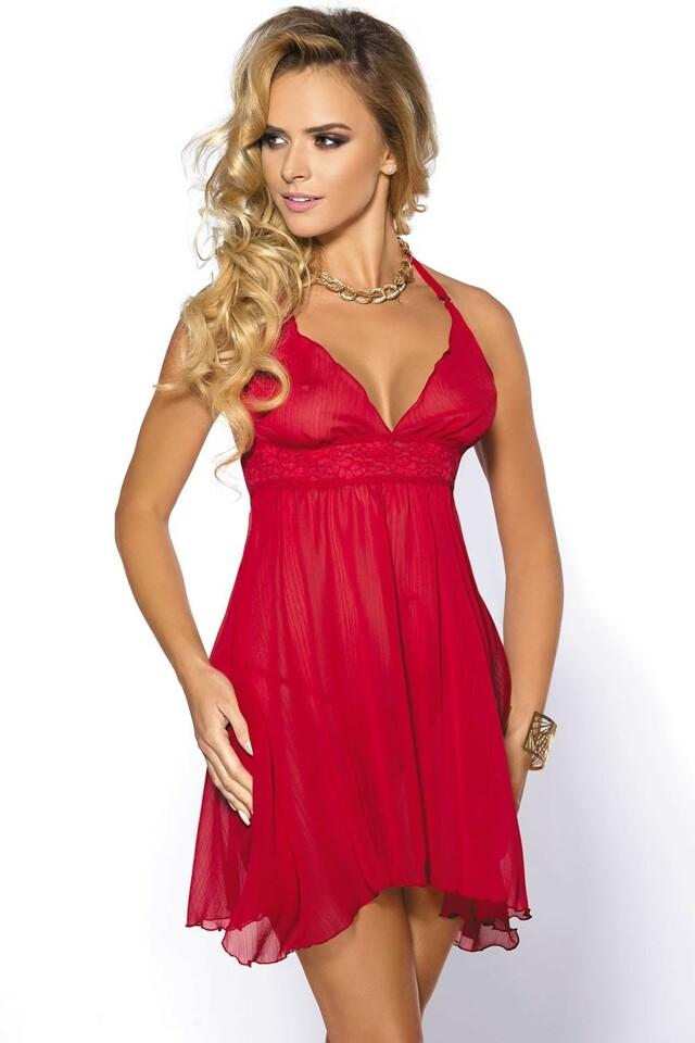 Dámská sexy košilka Anais Essie - 2XL - červená