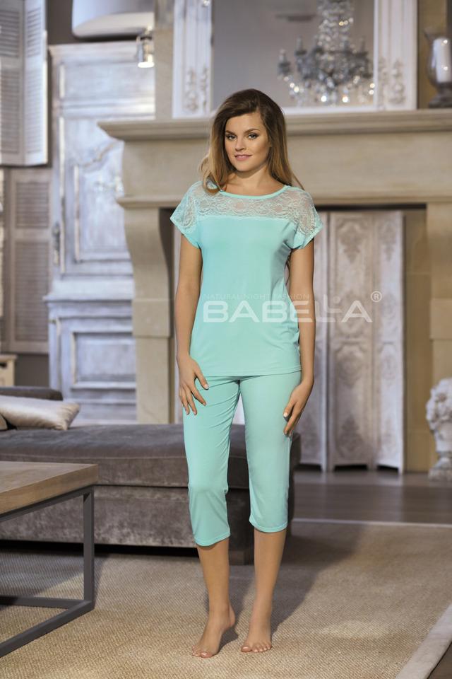 Dámské pyžamo FIORELLA - BABELLA - S - mátová