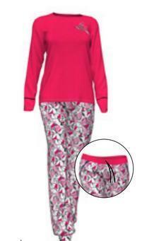 Dámské pyžamo 10-5272 - Vamp - L - červená