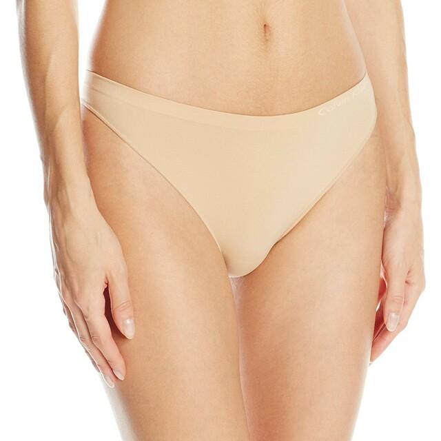 Tanga Pure Seamless QD3544E tělová T|O Calvin Klein