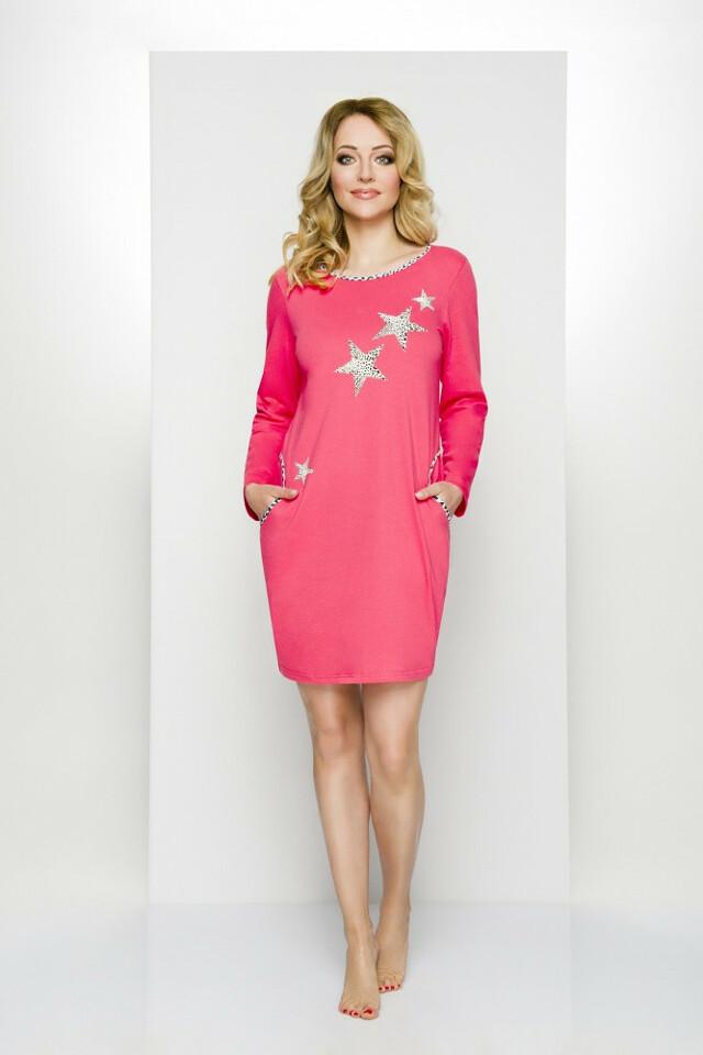 Noční košile Regina 304 S-XL dł/r - S - mix