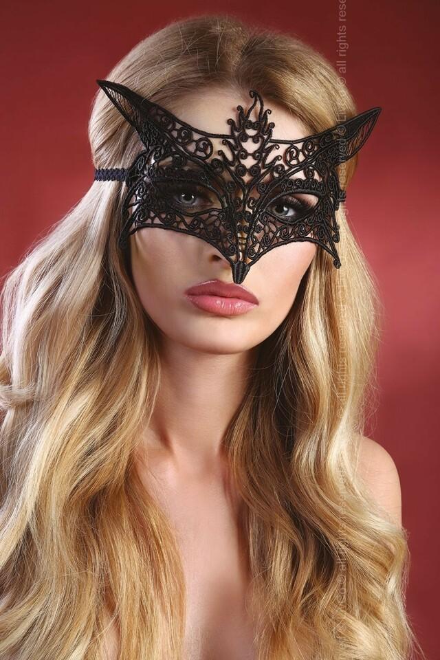 Erotická maska Mask model 9 - Univerzální - černá